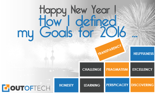 HAPPY NEW YEAR! How I defined my goals for 2016