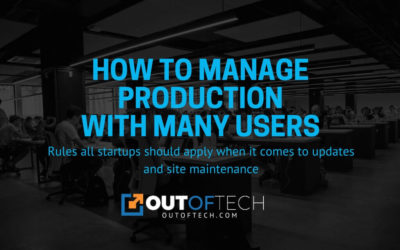 How to manage production with many users