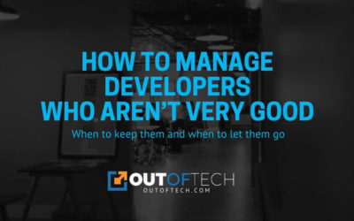 How to manage developers who aren't very good