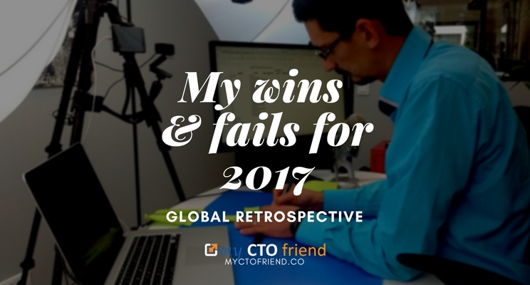 My wins and fails for 2017