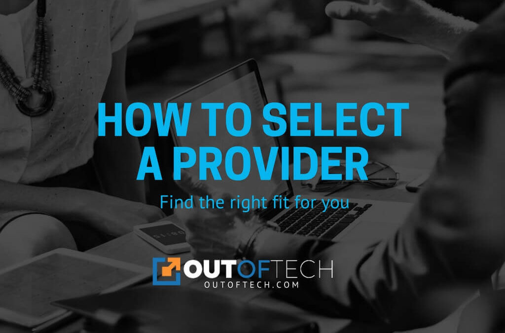How to select a provider