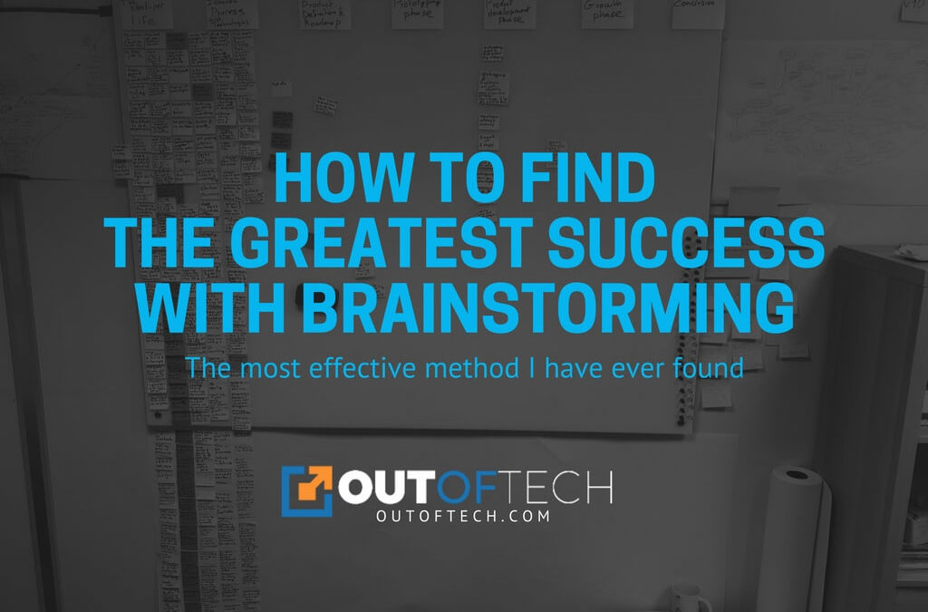 How to find the greatest success with brainstorming