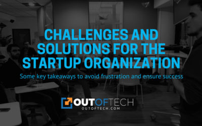 Challenges and solutions for the startup organization