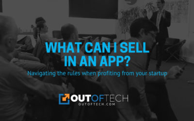 What can I sell in an app?