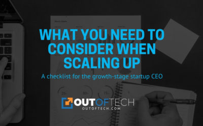 What you need to consider when scaling up