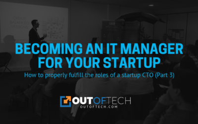Becoming an IT manager for your startup
