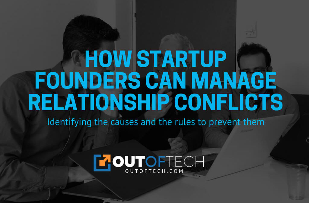 How startup founders can manage relationship conflicts