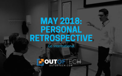 May 2018: Personal retrospective
