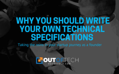 Why you should write your own technical specifications