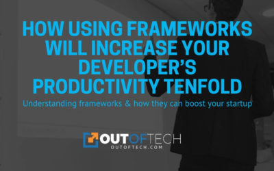 How using frameworks will increase your developer's productivity tenfold