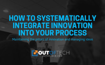 How to systematically integrate innovation into your process